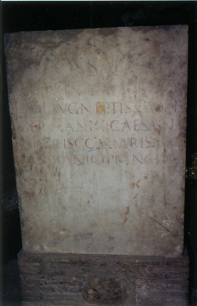 Grave of Marcus Agrippa