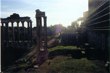 Temple of Saturn/Capitoline Hill