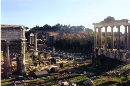 Temple of Saturn/Palatine Hill