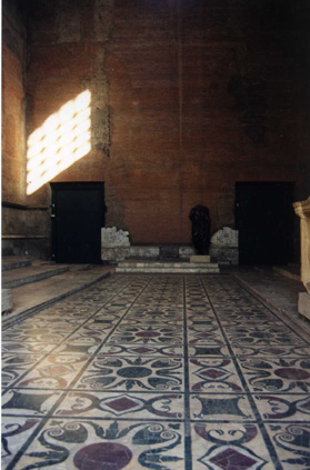 Interior of the Curia