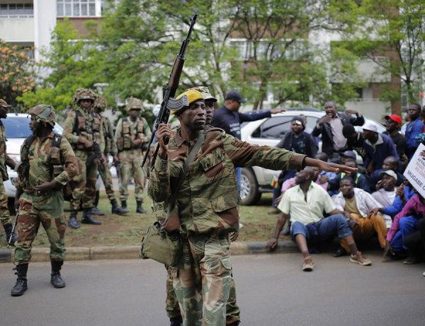 Zimbabwe Coup 2017