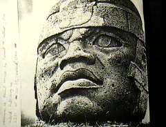 Afro-Olmec head