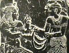 Nubian-Kushite King and Queen